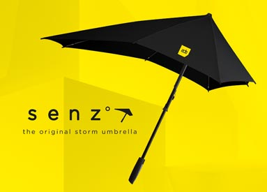 senz° x ADE storm umbrella