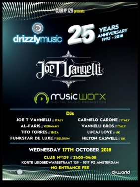 Drizzly Music 25th Anniversary