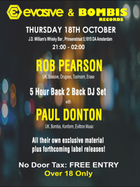 Rob Pearson & Paul Donton Back 2 Back Session