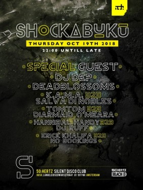 Shockabuku World tour