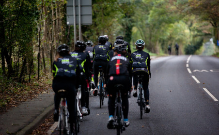 Cycle to ADE for charity