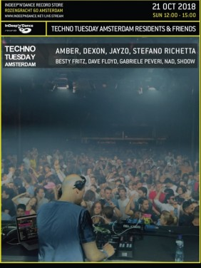 Techno Tuesday Amsterdam Residents & Friends