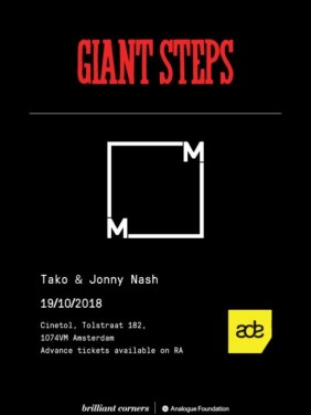 GIANT STEPS x Music From Memory