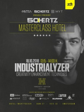 Masterclass & Cocktails - Industrialyzer